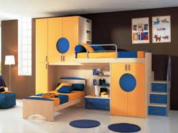 Bedroom & Nursery Cool Kids Bunk Beds More Manageable in Look