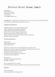 Personal Driver Job Description For Resume Primary Delivery Sample Ups