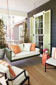 Southern Living Living Rooms by Porch Of The 2016 Southern Living Idea House How To Decorate