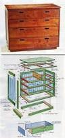 Free Solid Wood Dresser Plans by
