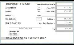How to fill out a bank deposit slip Quora