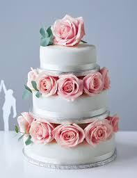 Traditional Wedding Cake – Create Your Own – Fruit Sponge or Chocola
