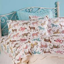 horse and pony sheets and bedding for kids pony horse and room