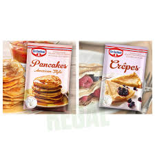dr oetker crêpes und dr oetker pancakes american style