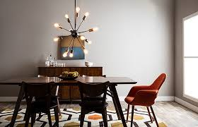 Chandelier Modern Dining Room by Trend Alert Mid Century Modern Furniture And Decor Ideas