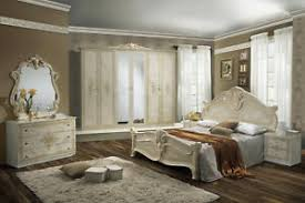 details zu schlafzimmer amalia in beige creme klassik italienisch komplett schlafzimmer