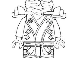 Golden Ninjago Coloring Pages Lego
