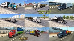 AMERICAN TRUCK TRAFFIC PACK BY JAZZYCAT V1.1   ETS2 Mods   Euro ... American Truck Simulator Pc Dvd Amazoncouk Video Games Expectations Page 2 Promods Uncle D Ets Usa Cbscanner Chatter Mod V104 Modhubus American Truck Traffic Pack By Jazzycat V17 Gamesmodsnet Fs17 Trailer Shows Trucking In The Gamer Vs Euro Hd Youtube Mega Pack Mod For Kenworth K100 Ets2 126 Ats 15x All Addons From Kenworth W900a Mods Patch T908 122 Truck Simulator Uncle Cb Radio Chatter V20