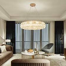 eth modern licht luxuxkristallglas ring exklusive villa