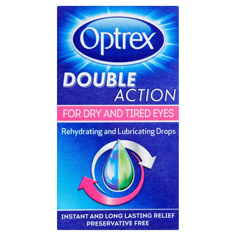 Optrex Double Action Rehydrating and Lubricating Drops - 10ml