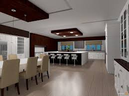 kitchen dining room open plan house ideas planner 5d