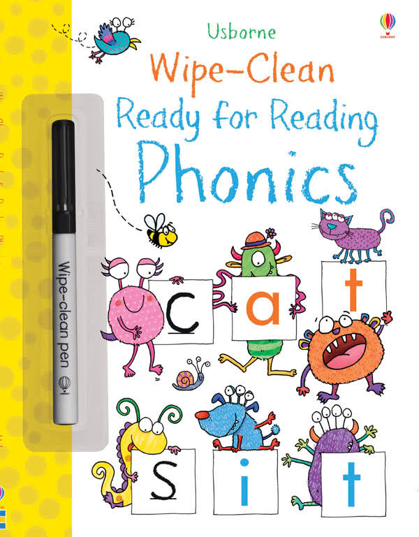 Wipe-Clean Ready for Reading Phonics [Book]
