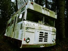Rusty Old Abandoned Motorhome