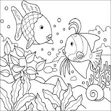 Full Image For Sea Animals Coloring Pages Pdf Life Printables Animal