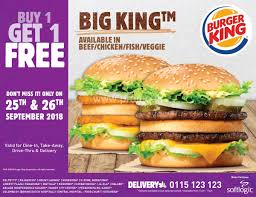 Buy 1 Get 1 Free On Big King From Burger King Burger King Has A 1 Crispy Chicken Sandwich Coupon Through King Coupon November 2018 Ems Traing Institute Save Up To 630 With All New Bk Coupons Till 2017 Promo Hhn Free Burger King Whopper Is Doing Buy One Get Free On Whoppers From Today Craving Combo Meal Voucher Brings Back Of The Day Offer Where Burger Discounted Sets In Singapore Klook Coupons Canada Wix Codes December