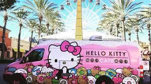 100 Food Truck Detroit Hello Kitty Food Truck Rolling Into Metro