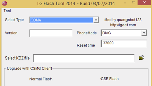 LG Flash Tool To KDZ and TOT Firmware on LG Smartphone