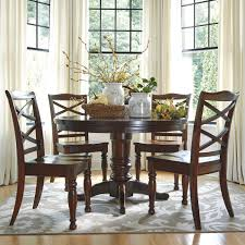 Attractive Ashley Furniture Porter 5 Piece Round Dining Table Set Olinde S
