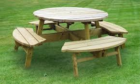 circular picnic table plans starrkingschool