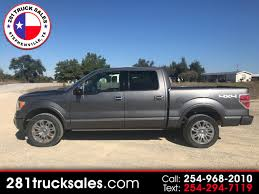 100 281 Truck Sales Used 2011 Ford F150 XLT SuperCrew 65ft Bed 4WD For Sale
