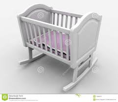 Free Woodworking Plans For Baby Cradle by Baby U0027s Crib Royalty Free Stock Photography Image 13089497