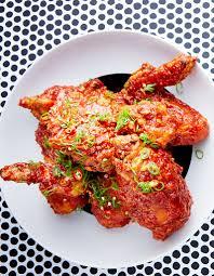 cuisine recette poulet poulet frit coréen sauce piquante pour 4 personnes recettes