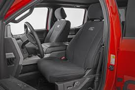 100 Neoprene Truck Seat Covers Front Rear Black Cover For 20152019 Ford F150