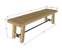 Remarkable Dining Room Bench Plans With 51 Best Table Images On Pinterest Diy