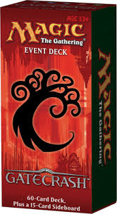gatecrash event deck decklists magic the gathering