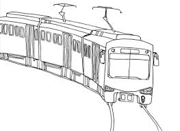 Click To See Printable Version Of City Train Coloring Page