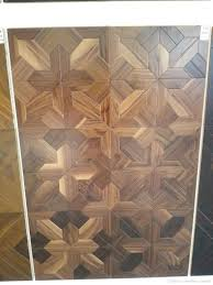 Plastic Wood Flooring Walnut Bamboo Sheets Wooden Hardwood