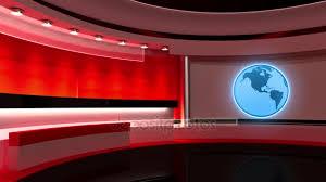 News Studio Loop Earth Globe The Perfect