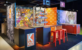 Klei Entertainment Trade Show Exhibit Graphics