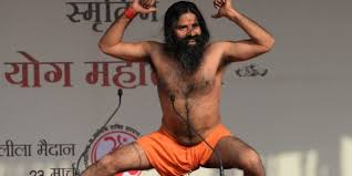 Baba Ramdev Doing Yoga Hard To Emulate Funny Look At