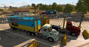 100 Truck Weigh Stations WEIGHT STATIONS NEW FEATURE IN ATS GAME American Simulator