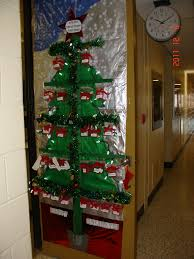 Polar Express Door Decorating Ideas by Interesting 50 Office Decorating For Christmas Design Inspiration