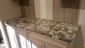 New granite countertops in Anaheim Bianco Antico slab w Fusion