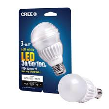 cree 30 60 100w equivalent soft white 2700k a21 3 way led light