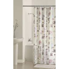 Walmart Bathroom Curtains Sets by Mainstays Bamboo Nature U0027s Momemts Peva Shower Curtain Walmart Com