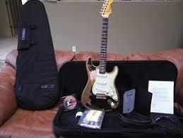 Fender Masterbuilt John Mayer Black1 Stratocaster Cruz