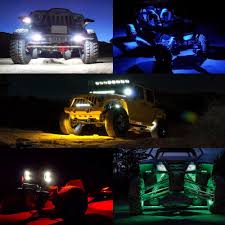 6pcs LED Rock Light Kits For Off Road Truck Car ATV SUV Under Body ... Harleydavidson_bluejpg Car Styling 8pcsset Led Under Light Kit Chassis Lights Truck 50 Smd Rgb Fxible Strip Wireless Remote Control Motorcycle Harley Davidson Engine Lighting Ledglow Underglow Underbody Kits 02017 Dodge Ram 23500 200912 1500 Rigid Red Illumimoto Best Led Rock Lights Kit For Jeep 8pcs Pod Opt7 Hid Cars Trucks Motorcycles 6pc Interior Neon Accent Campatible With Srm Series Pro Diffused Backup Flush White Industries Black Rhino Performance Aseries Rock