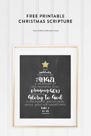 What Is The Best Christmas Tree Variety by Christmas Tree Scripture Printable Yellow Bliss Road