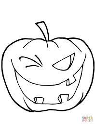 Halloween Pumpkin Coloring Pages Pumpkins Free Online