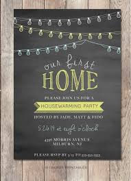 Housewarming Party Invitation By TrendyPrintables