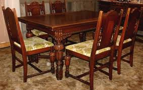 Antique Dining Room Tables And Chairs Antique Dining Room Tables
