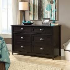 Sauder Shoal Creek Dresser Soft White by Sauder County Line 6 Drawer Dresser Walmart Com