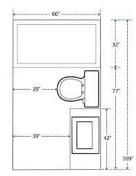 grundriss und maße des kleinen badezimmers badezimmer diy