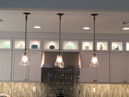 rope pendants led transom cabinet lighting glass and