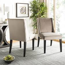 Safavieh Humphry Dining Chair (Set Of 2) - Silver Nail Heads ... Safavieh Lulu Upholstered Ding Chair In Light Brown And Gold Set Terra Midcentury Modern Fabric Of 2 Buy Fox6228eset2 Holloway Oval Side Black Pu Set Safavieh Mcer Collection Carol Taupe Linen Ring Fox6228g Youtube Navy Cushioned Chairs Safaviehcom Abby Sky Blue Reviews Goedekerscom Mcr4604b Lizzie Ding Chair Set Of 80100 A7005aset2 Fniture By White Home Design Ideas Also Interior Decor Market Becall Natural Cream Shop Parsons Becca Zebra Grey On Sale