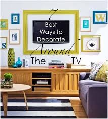 Ways To Decorate Around The TV